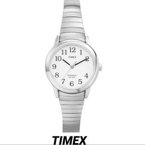 TIMEX• EASY READ LADIES SILVER STAINLESS STEEL 30M